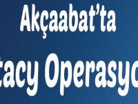 Akçaabat'ta extacy Operasyonu