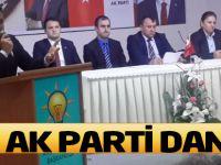 Ak Parti Akçaabat İlçe Danışma Toplantısı yapıldı.
