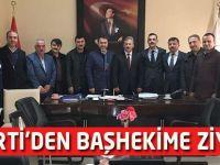 AK Parti'den Başhekime Ziyaret