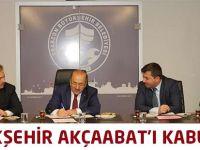 Büyükşehir Akçaabat'ı Kabul Etti.