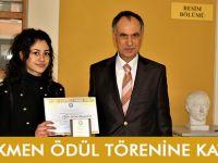 Türkmen Ödül Törenine Katıldı.