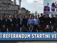 AK Parti'den Referandum Startı