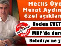 Murat Aydın İle Çok Özel Söyleşi
