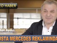 Mercedes Reklamında Oynadı