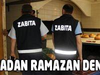 Zabıtadan Ramazan Denetimi