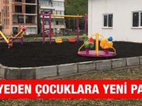 Belediyeden Çocuklara Yeni Parklar.