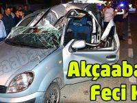 Akçaabat'ta Feci Kaza 1 Ölü 3 yaralı