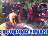 Akçaabat'ta Trafik kazası 2 yaralı
