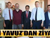 Vali Yavuz'dan Ziyaret