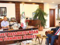Cumhuriyet Başsavcısı'ndan Başkan Türkmen'e Ziyaret