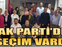AK Parti'de Seçim Vardı