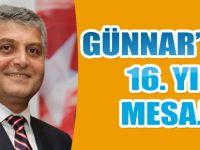 Günnar'dan 16. Yıl Mesajı