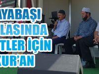Karaabadal Şenliği  Kur'an ile Yapıldı