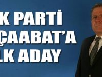 AK Parti'de İlk Aday