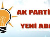 AK Parti ilçe Başkanlığı'na 3. Aday