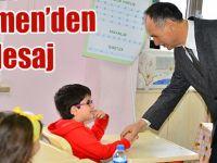 Türkmen'den Mesaj Var