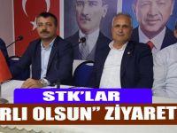STK'lardan AK Parti'ye Ziyaret