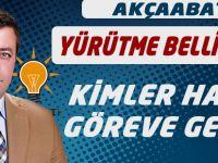 AK Parti'de Görev Dağılımı