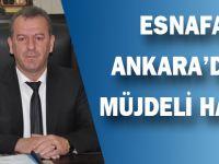 Ankara'dan Esnafa Müjde