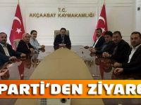 AK Parti'den Ziyaretler