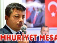 Akgün'den Cumhuriyet Mesajı