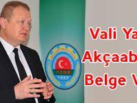 Vali Yavuz Belge Verdi