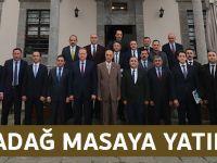 Karadağ Turizm Merkezi Değerlendirme Toplantısı Yapıldı