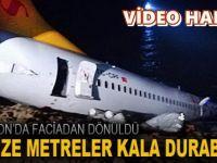 Trabzon'da Büyük Facia Ucuz Atlatıldı