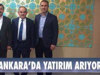 Akgün Ankara'da Yatırım Aradı