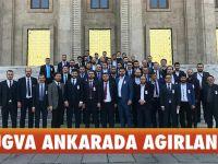 TÜGVA'dan Ankara'ya Çıkartma