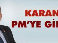 Yavuz Karan PM'ye Girdi