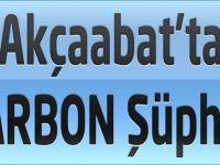 Akçaabat'ta Şarbon Şüphesi