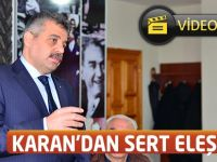 CHP PM Üyesi Karan'dan Sert Eleştiriler