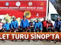 Bisiklet Turu Sinop'ta