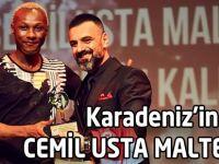 Ödül Cemil Usta Maltepe'ye