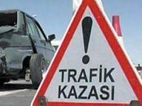 Acısuda Trafik Kazası
