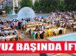 Trabzon Büyükşehir Belediyesinden Akçaabat'ta İftar