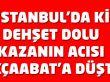 İstanbul'da dehşet dolu kazanın acısı Akçaabat'a düştü