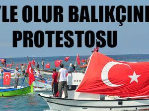 Balıkçılar Terörü Protesto Etti