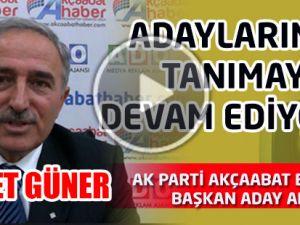 Ahmet Güner Akçaabat Belediye Başkan Aday Adayı