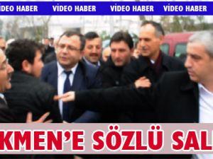 Akçaabat Belediye başkanı Şefik Türkmen'e saldırı girişimi.