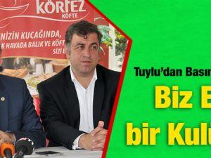 Tütünspor'dan Basın Açıklaması