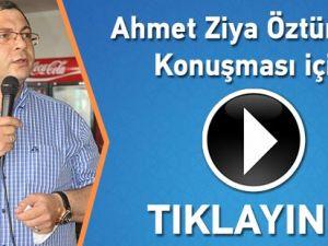Ahmet Ziya Öztürk'ün Seçim Sonucu Konuşması