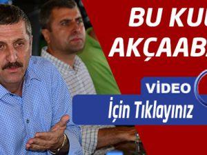 Akçaabat Sebatspor Başkanı Zeki Özürk