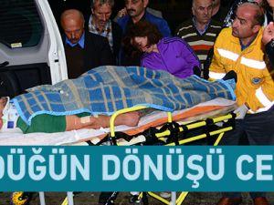Trabzon'un Düzköy ilçesindeki kazada 2 kişi öldü