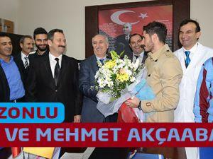 Trabzonsporlu Sporrcular Akçaabat'ta
