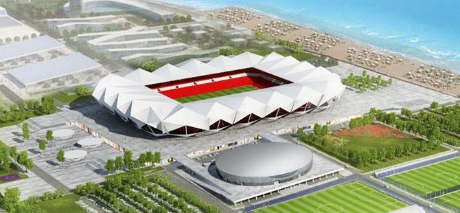 Akyazı Spor Kompleksi ve Stadyum İnşaatı Sürüyor. galerisi resim 8