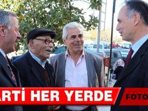 AK Parti'nin Hedefi Karış karış Dolaşmak
