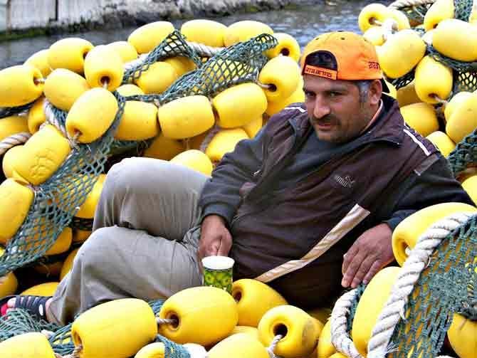 Balıkçılar Mola Verdi Ağlar Bakıma Alındı galerisi resim 9