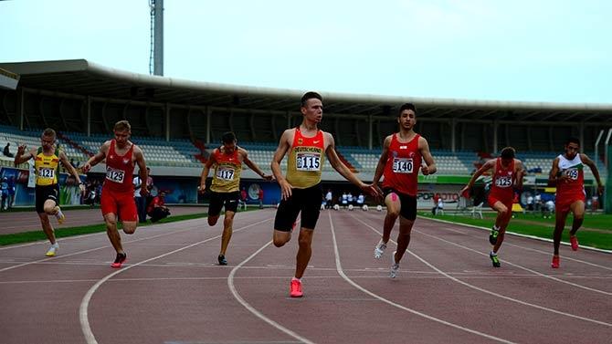 2. Avrupa İşitme Engelliler Gençler Atletizm Şampiyonası, Sorunlarla baş galerisi resim 1